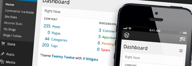 Wordpress updating and maintenance by Seven Creative